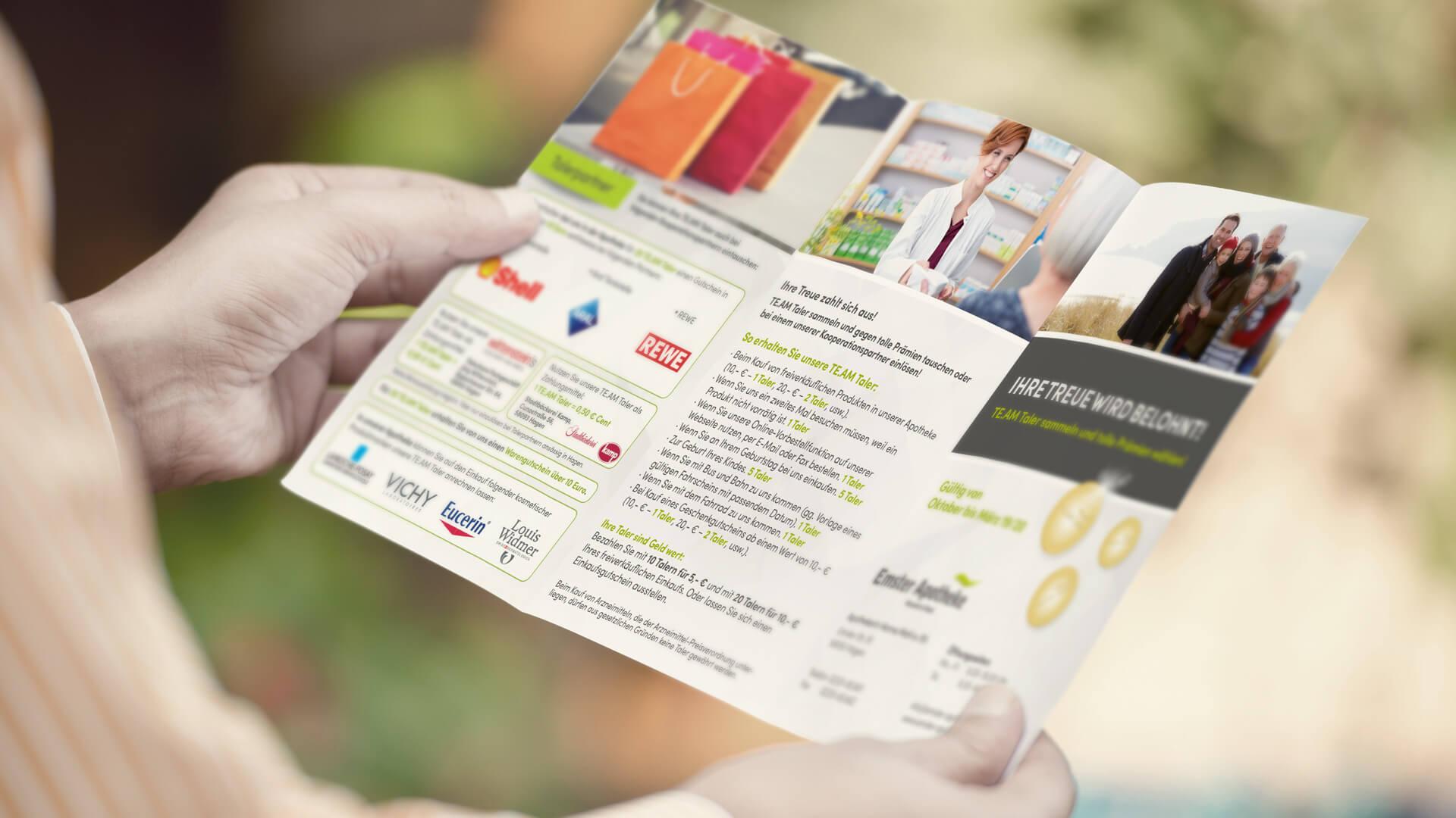 TE.AM Apothekenberatung Marketing Markenentwicklung Referenzen 2