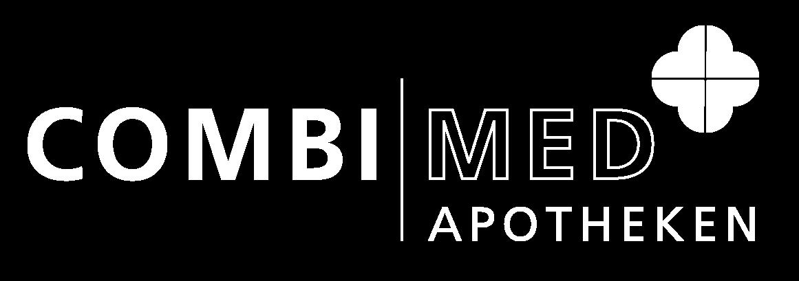 Combimed Logo Apotheken Weiss
